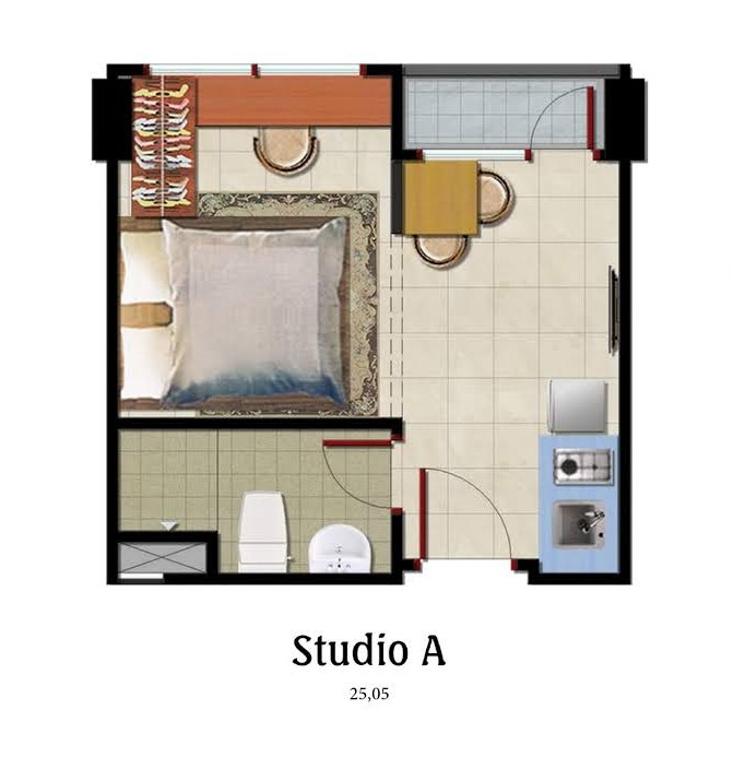 Studio-A-denah